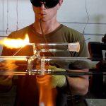 Как делают стеклянные бонги? Искусство стеклодувов